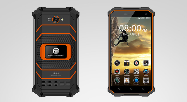 Rugged Phone with Antenna