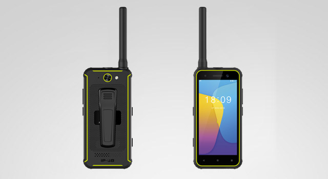 Rugged PTT Handheld